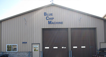 Blue Chip Machine's CNC Machining Shop in Waite Park, MN